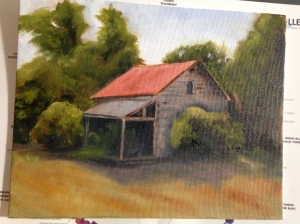 Studio Study for Plein air