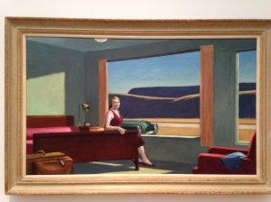 "Edward Hopper ""Rooms for Tourist"" ""Rooms by the Sea"""