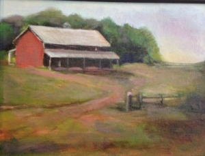 On the farm 9x12